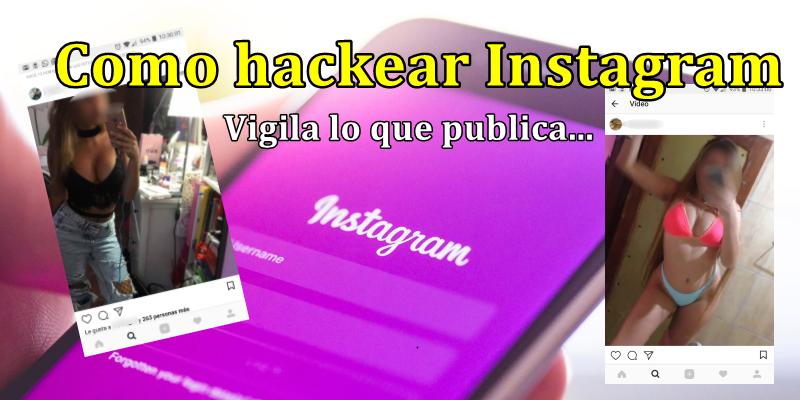 como hackear instagramm