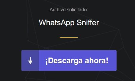 descargar whatsapp sniffer