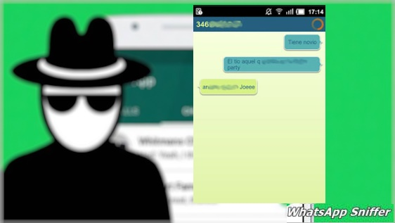 whatsapp sniffer aplicacion