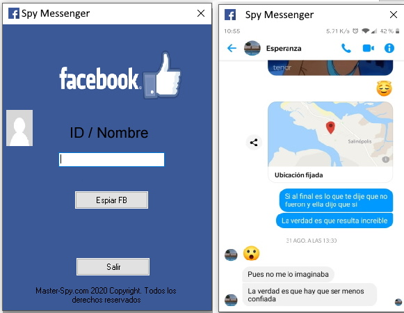 descargar spy messenger